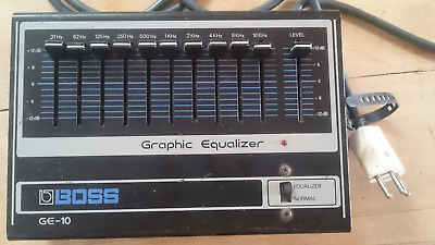 BOSS Graphic Equalizer GE-10