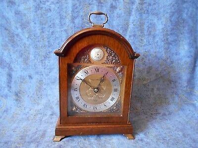 Elegant Oak Cased Elliot Bracket Clock From Mappin & Webb Ltd Wind Up