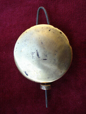 Antique Brass Faced Pendulum Bob For American Clock