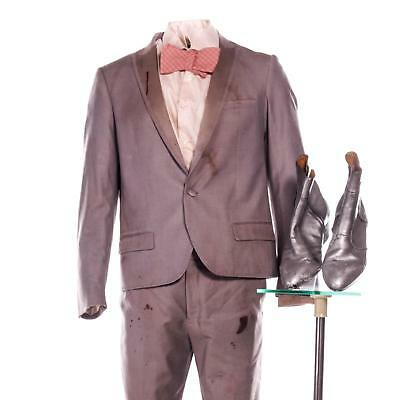 The Domestics Willy Cunningham Screen Worn Stunt Dbl Suit Shirt Tie Shoes Sc 83