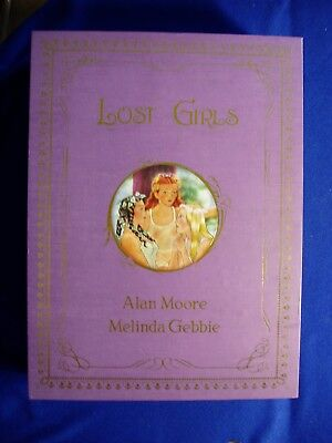 Lost Girls Collection 3 Books Box Set 3rd printing : Alan Moore  VFN/NM.