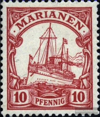 Marianas (German. Colony) 9 with hinge 1901 Ship Imperial Yacht Hohenzollern