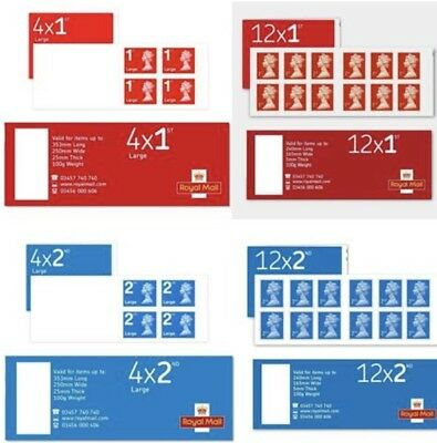1st Class & Second Class Stamps. Brand New. Will Be Delivered 1st Class