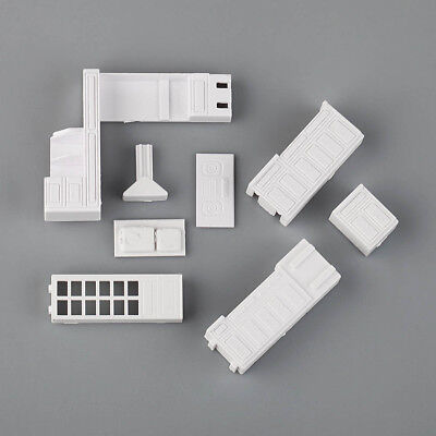 1:50 Scale Miniature Kitchen Cabinet Set Model Kit Furniture for Dollhouse
