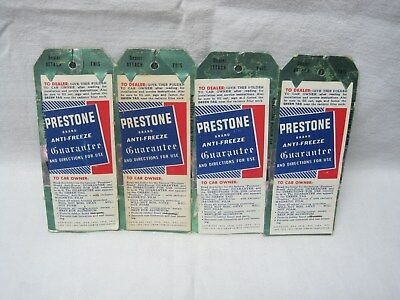 Prestone Anti-Freeze Hanging Tags 4- Still Connected
