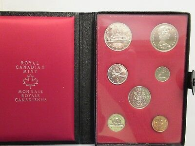 1972 Canada Prestige, 7 coin set, double dollar set