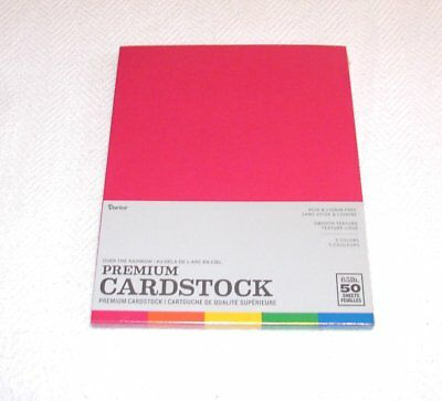 Premium Cardstock - 65 Lbs. 50 Sheets - Color Name: Over The Rainbow