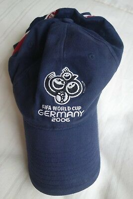 Vintage - Official Fifa World Cup Hat Germany 2006 - Munich 9Th June - 9Th July