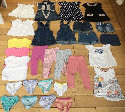 girls clothing bundle 18-24 months