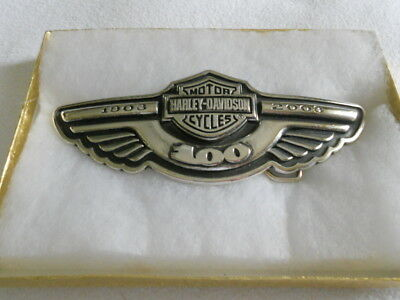 Harley-Davidson 100Th. Year Anniversary Belt Buckle / Very Cool
