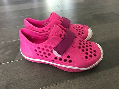 8a8b7fd0eeec GIRLS PLAE MIMO Water Shoes Sneakers Toddler 10 Pink Purple Marbled ...