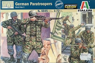 Revell 1/72 GERMAN PARATROOPERS (lesen/read)