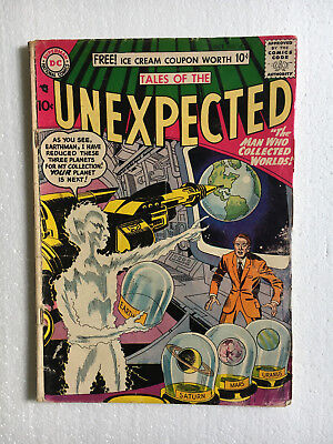 Tales of the Unexpected #18 Jack Kirby 1957 Outer Space Sci-Fi Comics