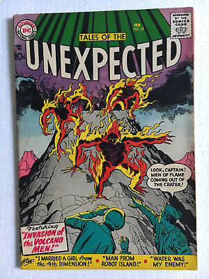 TALES OF THE UNEXPECTED #22 1958 DC JACK KIRBY MANEELY Sci-Fi Comics