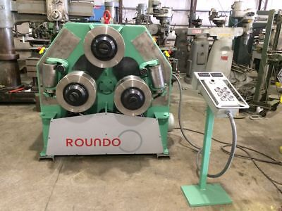 Roundo R5 angle roll, New: cylinders, encoders, LED displays, controls, tooling