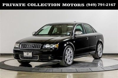 2004 Audi S4  2004 Audi S4 1 Owner Clean Carfax Manual Low Miles Well Kept