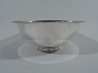 Arthur Stone Bowl - Antique Craftsman Arts & Crafts - American Sterling Silver