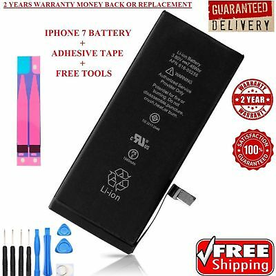New 1960mAh Li-ion Internal Battery Replacement + Adhesive + Tools For iPhone 7