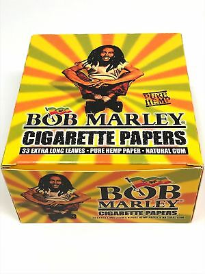 Bob Marley 100% Pure Hemp King Size Rolling Paper -1 Pack-Bob Marley Rolling Pap