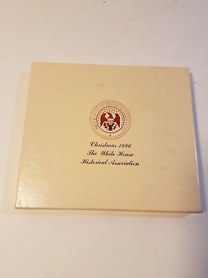 1996  The White House Historical Association Christmas Ornament in Box