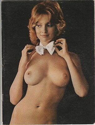 CYNDI WOOD  Playboy Playmate  Pin-Up   Wearing a Bow Tie