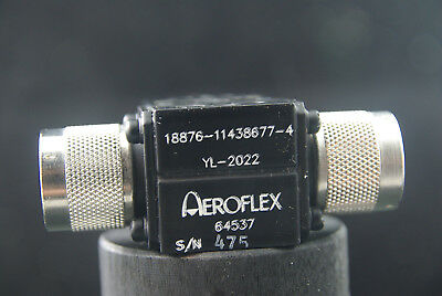 Aeroflex New  Military RF Microwave Type N Power Divider YL-2022
