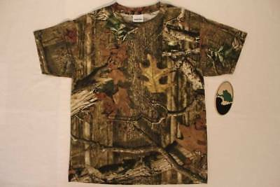 e788810f Mossy Oak Break Up Infinity Boys T Shirt Youth Size XL Top Camouflage  Hunting