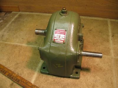 Ohio Gear Inline Reducer HH2 6-6/11:1 Reduction 423467 Rebuilt