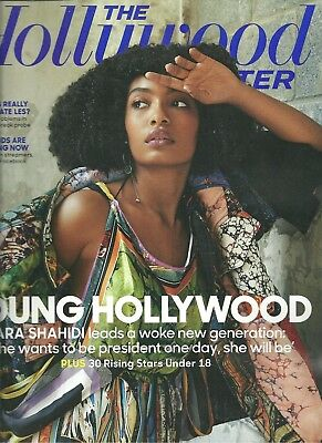 The Hollywood Reporter August 8 2018 Yara Shahidi Free Fast SnH Best Deal L@@K !