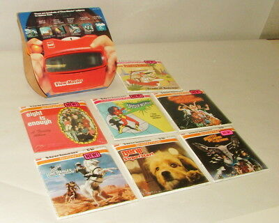 % 1970-80's View Master And Reel Collection Mint In Original Sleeves