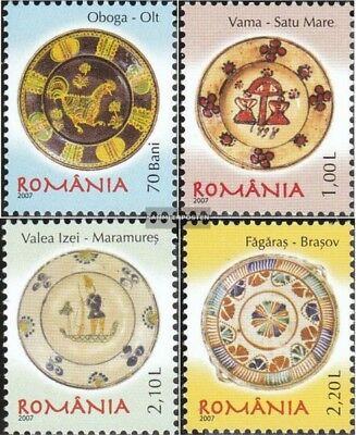 Romania 6180-6183 (complete.issue.) unmounted mint / never hinged 2007 Romanian