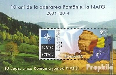 Romania Block584 (complete.issue.) unmounted mint / never hinged 2014 NATO Membe
