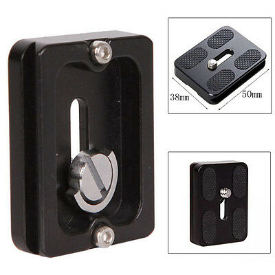 1pc PU50 50*38mm Quick Release Plate For Benro Arca Swiss Tripod Ball Head Part
