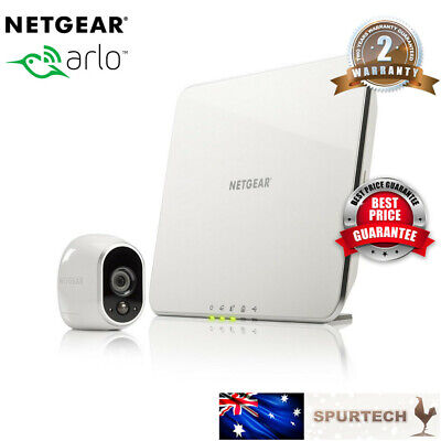 OEM Netgear Arlo VMS3130 Smart Home Wireless CCTV Security System + 1 HD Cameras