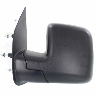 for 2002 2007 Ford Econoline Van Driver Mirror Manual Dual Glass  Wo/Puddle Lamp