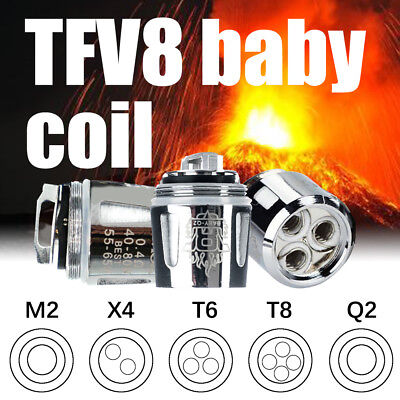 Replacement Coil for SMOK TFV8 Baby BEAST V8 Baby Coils M2/Q2/X4/T6/T8