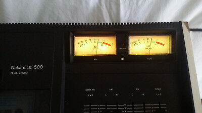 NAKAMICHI 500 Dual Trace Two Head Cassette Vintage 1974