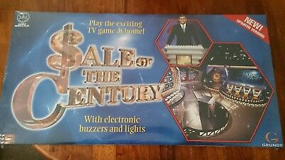 VINTAGE Sale of the Century BOARD GAME Grundy Australian NEW