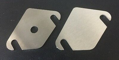 Pair FORD 1.4 1.6 TDCI EGR BLANKING PLATE FIESTA FOCUS FUSION C-MAX BLOCK OFF