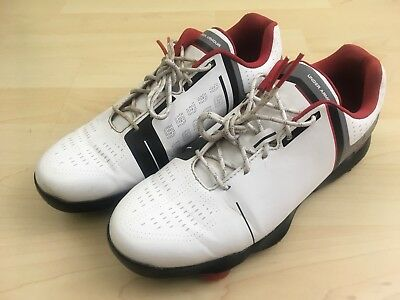 56e0437c1790 Under Armour UA Size 7 Youth Spieth One Jr. Golf Shoes Cleats White Black