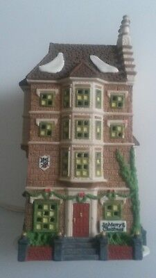 Nephew Freds Flat Department 56 Heritage Dickens Christmas Village Cottage Dept