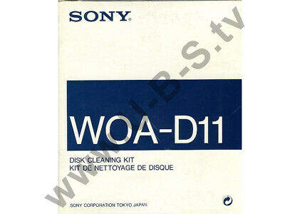 Sony WOA-D11 - Disk Cleaning Kit