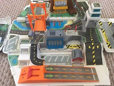 Micro Machines Super Van City (1991) Vintage Retro Toys