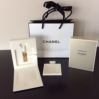 Brand New collectable CHANEL GABRIELLE Eau de Parfum mini with ceramic dish
