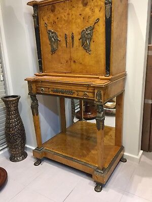 Writing Desk Antique French Kingwood