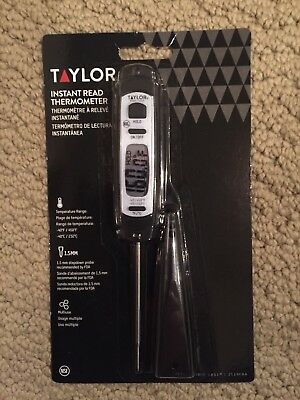 Thermometer TAYLOR 3519FDA Digital Read Pen Style Instant Restaurant Kitchen NSF