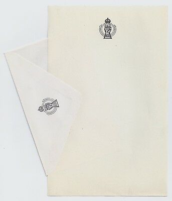 WW2 WWII Canadian Army - Royal Canadian Armoured Corps notepaper