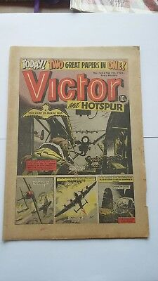 Victor and Hotspur Comic 7th Feb 1981 Issue Number 1042