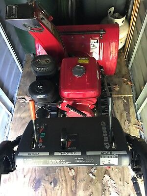 Used (Good Condition) Honda HS928TA Two Stage Track Drive Snowblower