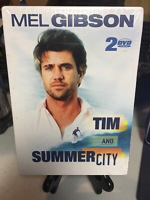 Mel Gibson 2 DVD Set Tim and Summer City Brand New Free Shipping